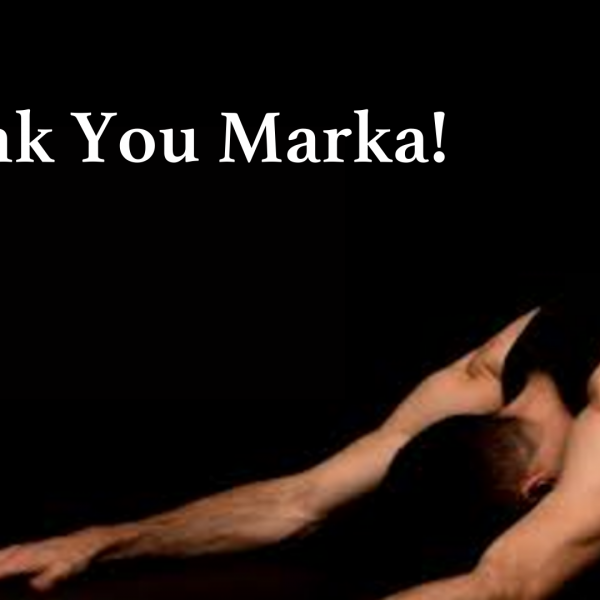 Thanks To Our Accessible Yogi, Marka!