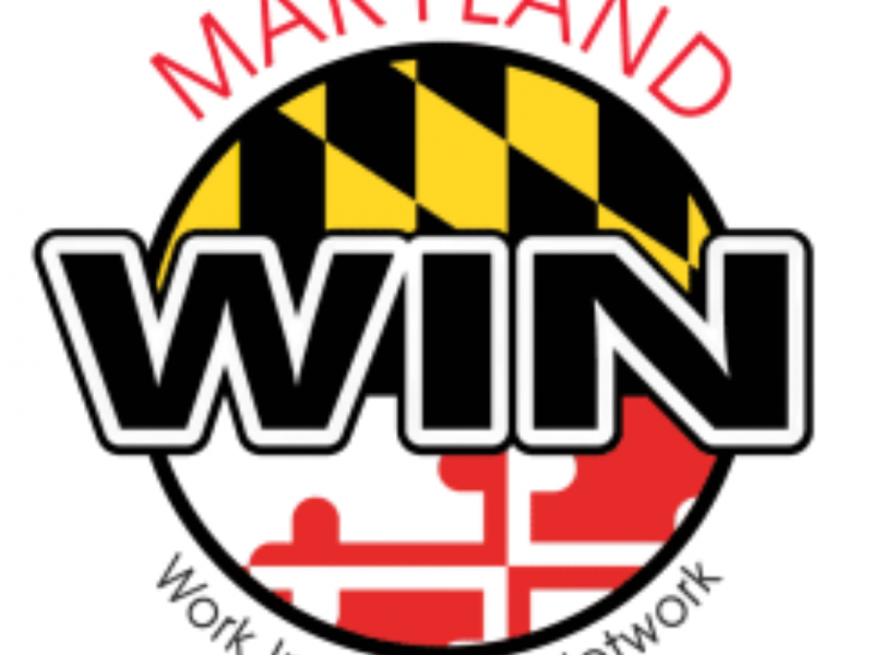 Logo for Maryland WIN Work Incentives Network