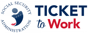 logo for social security administration ticket to work