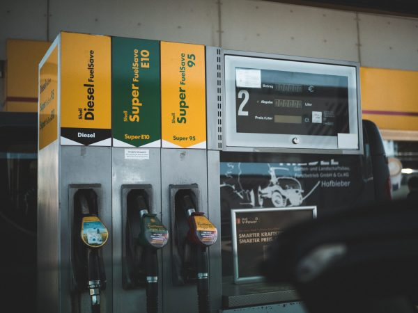 Photo of gas pump