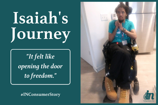 Isaiah's Journey to Independence