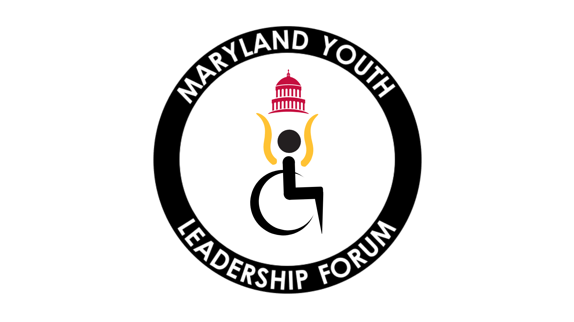 Graphic of Maryland Youth Leadership Forum logo