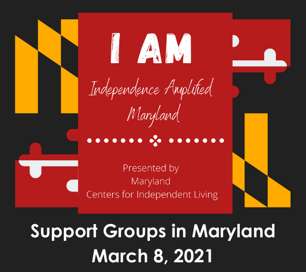 Support Groups: I AM Roundup for March 8, 2021