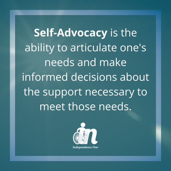 Consumer Story | Seeking Self-Advocacy Skills