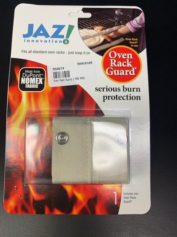 Photo of Jaz Innovations Oven Rack Guard Burn Protection