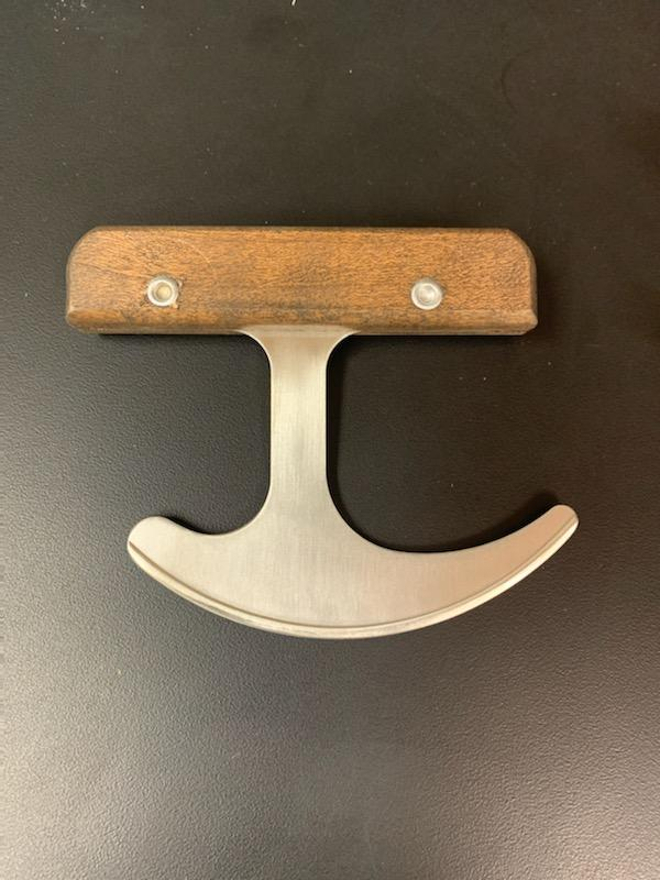 Photo of Rocking T Knife with wood handle.