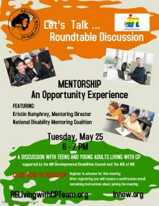 Graphic promoting Let's Talk Roundtable Discussion.