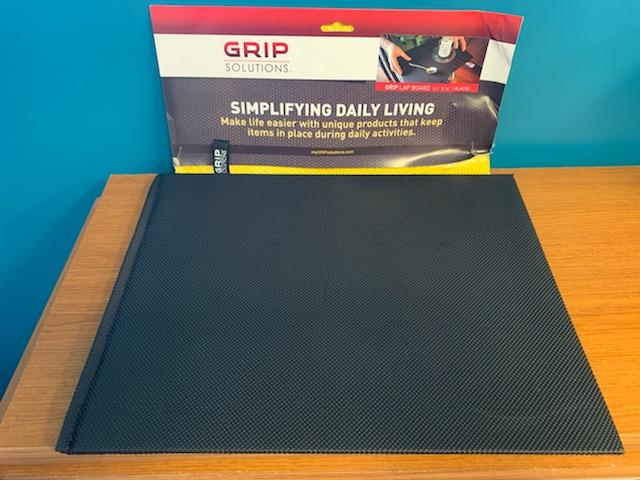 photo of grip solutions lap board.