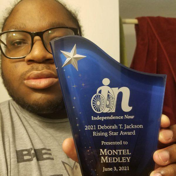 Congrats to 2021 Rising Star Award Recipient, Montel Medley!