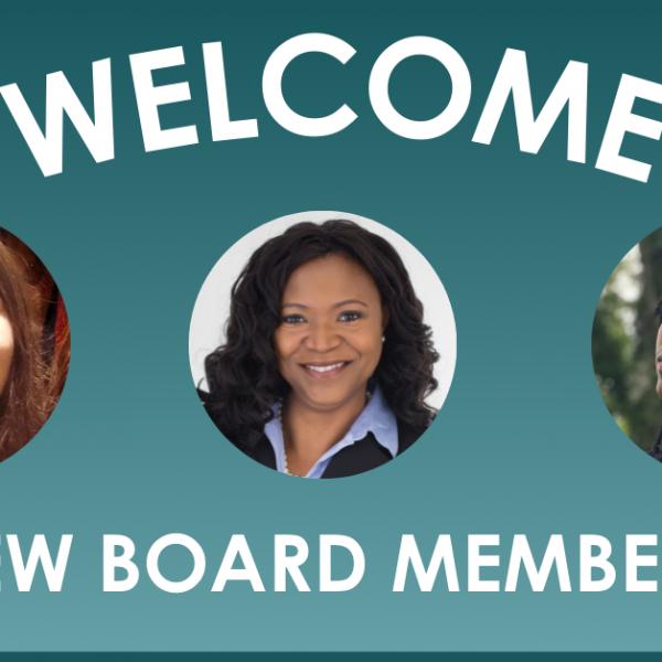 Welcome New Board Members!