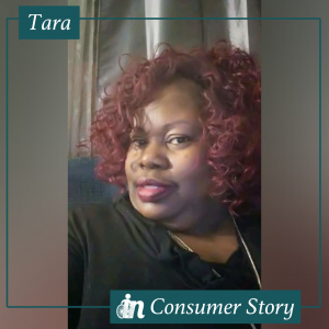 Photo of Tara Smith, an Independence Now consumer.