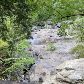 Photo of river in Cunningham Falls State Park